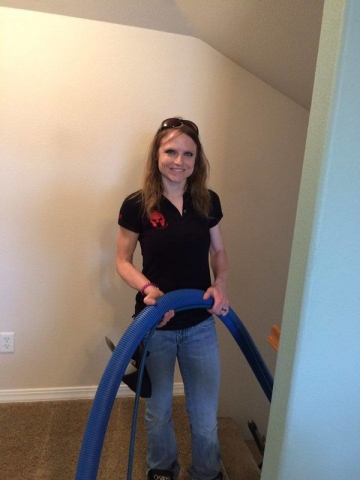 Carpet Cleaning with a smile!