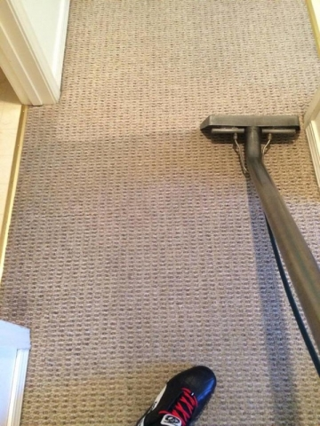 Hallway Carpet Cleaning: getting started