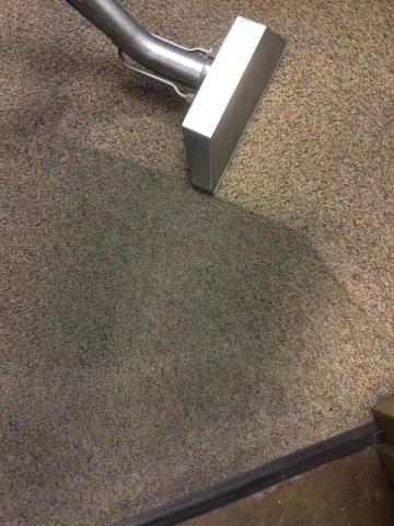 Carpet Cleaning – doorway traffic