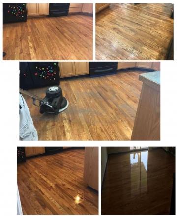 Wood Floor Cleaining | Look Like New
